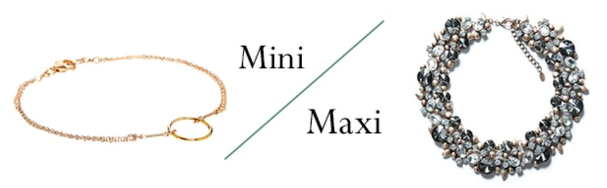 Mini or Maxi Necklaces?