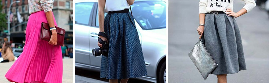 MIDI SKIRTS – THE HIT OF THE YEAR